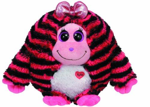 Ty Beanie Monstaz - Zoey X-Large Monster schwarz/pink gestreift