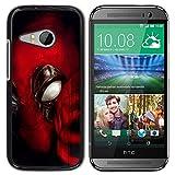 GIFT CHOICE / Schlank Hart Schutzhülle Tasche Hülle HandyHülle Slim Hard Protective Case SmartPhone Cover for HTC ONE MINI 2 / M8 MINI // Maske Super Hero //