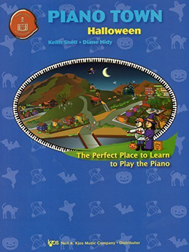 MP151 - Piano Town - Halloween - Level 1 by Keith Snell and Diane Hidy (2007-01-01)
