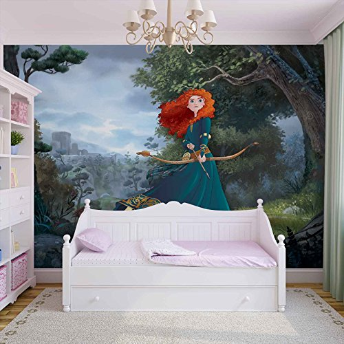 disney-princesses-merida-brave-photo-wallpaper-wall-mural-easyinstall-paper-giant-wall-poster-xxxl-4