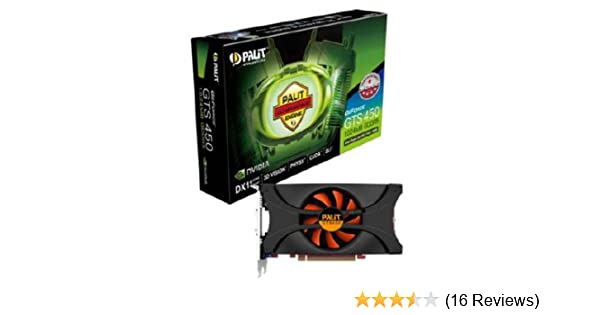 Palit GeForce GTS 450 Graphics Card with Nvidia 3D Vision Ready (1 GB,  GDDR5, PCI-E 2 0)