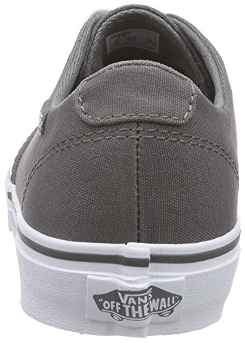 Vans Winston Decon, Baskets Basses femme Gris (Canvas/Pewter)