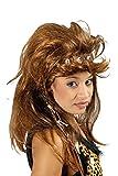 ,Karneval Klamotten' Kostüm Perücke Neandertalerin mit Haarreif und Knochen Zubehör Karneval Urmensch
