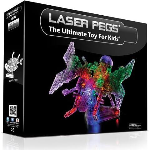 Laser Pegs 12-in-1 Butterfly Building Set by Laser Pegs