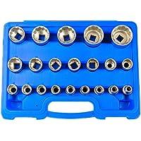 HASKYY® Juego de llaves dentadas, 8 – 36 mm