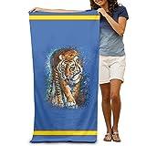 "Scary tigre adultos algodón toalla de playa (31""x 51"""