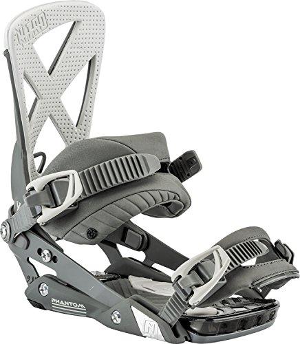 Nitro Snowboards Herren Phantom '18 Snowboard Bindung, Grey Bird, M