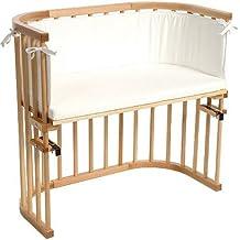 Babybay 105101 - Cuna de colecho (colchón y protector incluidos color blanco) [Importado de Alemania]
