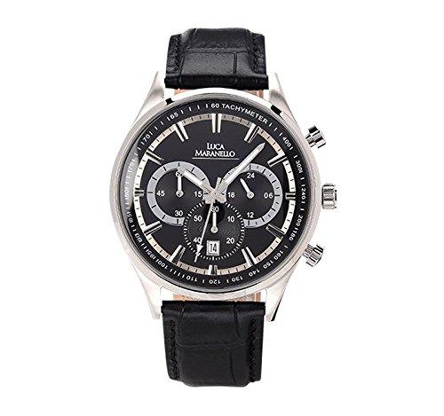 Luca Maranello Nobile Chronograph Silber/Schwarz G4825A