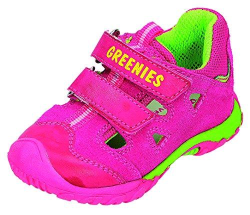 Greenies enfants sandales K. Sandales Rose - Fuchsia/Pink