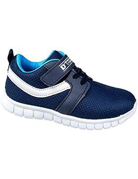 GIBRA® Kinder Sportschuhe, mit Klettverschluss, dunkelblau, Gr. 22-35