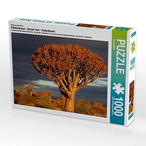 Ein Motiv aus dem Kalender Köcherbaum - Quiver tree - Kokerboom 1000 Teile Puzzle quer Preisvergleich