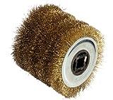 Fartools 110874 Brosse fil métal pour rénovateur REX120 Diamètre 120 mm Noir...