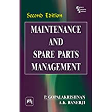 Maintenance and Spare Parts Management (English Edition)