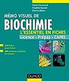 Mémo visuel de biochimie - L'essentiel en fiches et en couleurs