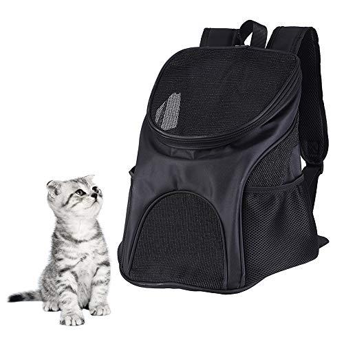 Bolsa de viaje para mascotas, mochila portátil, transpirable, suave, para perro o gato, para uso al aire libre