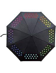 NectaRoy Parapluies, Contact avec l'eau Change de couleur parapluies - Noir