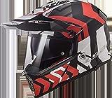 LS2 Pioneer MX436 Xtreme Motocross Helm XXXL