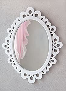 Heart to Heart 12.9x15.1-Inch Oval Wall Mirror, Small