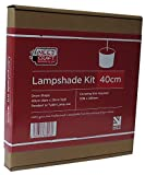 40cm Lampshade Making Kit for Pendants Or Table Lamps