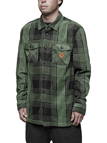 ThirtyTwo Reststop Polar Fleece Shirt L Wald -