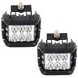 LED-Arbeitsscheinwerfer, 90 W, 10,2 cm, Seitenlicht, Nebelscheinwerfer, modifiziert, Off-Road-Lichter, Dachanwendung