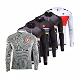 Uglyfrog 2018-2019 Funktions Autumn&Winter Fahrrad Trikot Langarm Herren Warmes with Fleece Element Jersey/Fahrradjacke