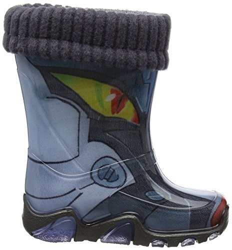 Toughees  Robot Wellies With Warm Sock,  Unisex - Kinder Stiefel Mehrfarbig