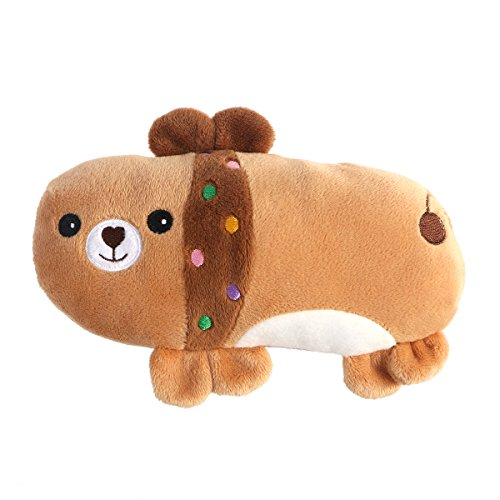 UEETEK Haustier Hund Plüschtiere Quietschen Spielzeug Bär Design Hund Chew Spielzeug für Haustier Beißen Kauen (Chew Bar)