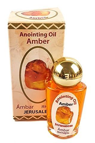Mélange unique Parfum Ambre naturel onction Huile parfumée Jérusalem authentique