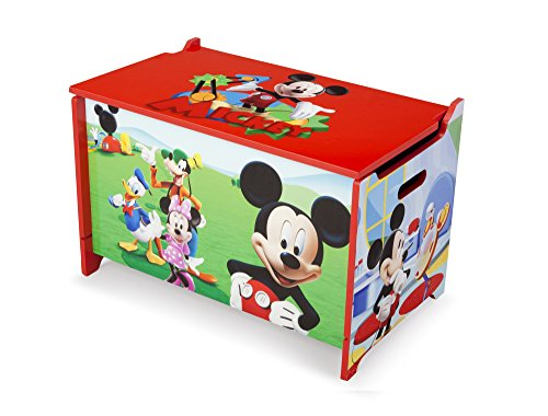 Disney Mickey Mouse Wooden Toy Box