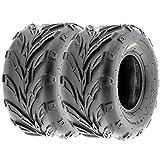 #6: SunF Go Kart & ATV Tires 16x8-7 16x8x7 4 PR A004 (Set pair of 2)