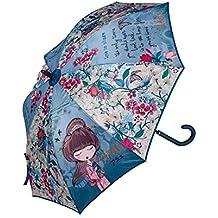 Anekke Paraguas Mujer Largo Estampado Floral - Meraki