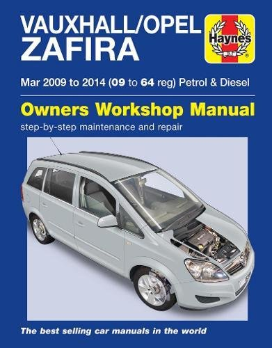 Vauxhall/Opel Zafira Petrol & Diesel Owners Workshop for sale  Delivered anywhere in UK