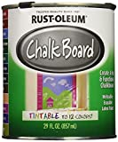 #1: Rust-Oleum 243783 Specialty Chalkboard Tint Base Paint for Blackboard - 824 ml