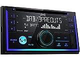 JVC KWDB93BT 2 DIN DAB inkl Antenne CD Bluetooth Spotify mit Einbauset für Mercedes C Klasse W204 S204 2007-2011 mit Tasten