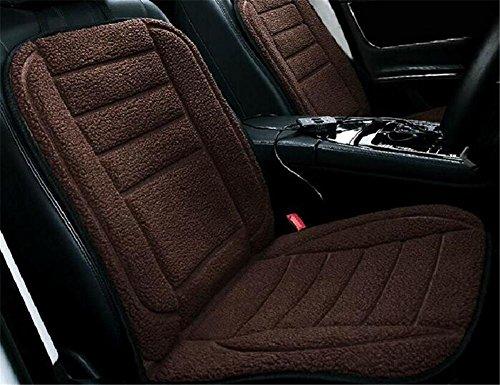 GEARS PANDA Auto Heizkissen Plüsch 12V 24V anit-Rutsch Winter Hot Pad Single Seat , E Feuer Lkw-bett