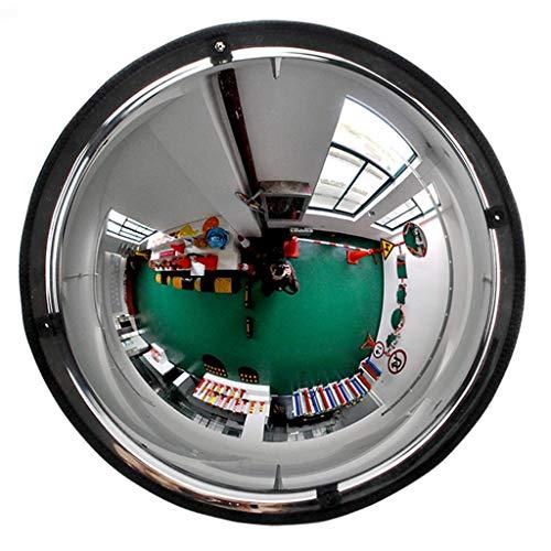 Geng Eckspiegel PMMA-Acrylspiegel Kugelspiegel Diebstahlsicherer Supermarkt-Weitwinkelspiegel Gummirand Sicherheitsspiegel Mit Großem Sichtfeld (Size : 30cm)