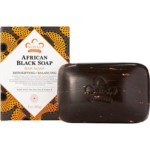 Jabón negro africano Nubian