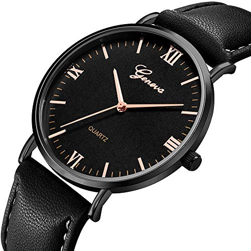 Damen Luxury Edelstahl Quarz Armbanduhr Lederarmband Braun Elegant Geschäft Uhren Ultradünn Wasserdicht Jeden Tag Freizeit Analog Quarz Armbanduhr -