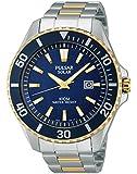 Pulsar Herren-Armbanduhr XL Sport Analog Quarz Edelstahl PX3032X1