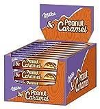 Milka Riegel Peanut Caramel - Erdnuss Karamell Riegel einzeln verpackt - Thekendisplay - 36 x 37g