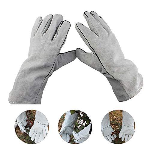 Hamkaw Rose Beschneiden Handschuhe Dornenfeste Gartenhandschuhe Gartenhandschuhe Aus Weichem Leder Lange Ärmelstulpe Für Frauen Männer