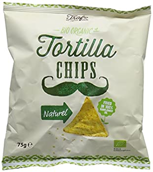 Trafo Tortilla Organic Natural Chips 75 G (Pack Of 16) 0