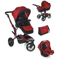 Jané 5492 S53 - Carro de paseo, color rojo