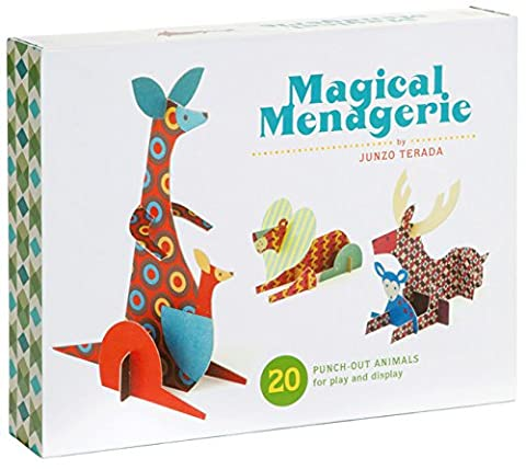 Magical Menagerie: 20 Punch-Out Animals for Play and Display