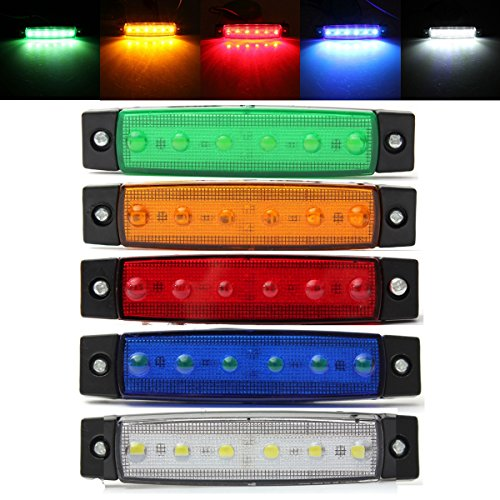 AMBOTHER-12-x-LED-Blinker-Seitenblinker-Seitenmarkierungsleuchten-Side-Marker-Seite-vorne-Outline-Clearance-Light-Indicator-Lamp-fr-Truck-Trailer-Camper-Lorry-van-12V-24V