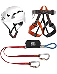 Climbing Technology Kit Ferrata Classic - Casco de escalada, color multicolor