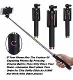 #5: Delkart 78 Centimeter Long Selfie Stick for All Mobiles (Oppo, Vivo, Samsung, Motorola, Lenovo, Micromax, Honor, Zenfone, Gionee, Redmi, Apple, Lg, Panasonic)