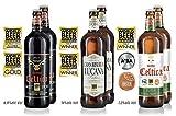 Birra Morena - Assortimento di 6 birre Craft da 75cl - 2 Celtica Sweet Stout | 2 Gran Riserva Lucana | 2 Celtica Super